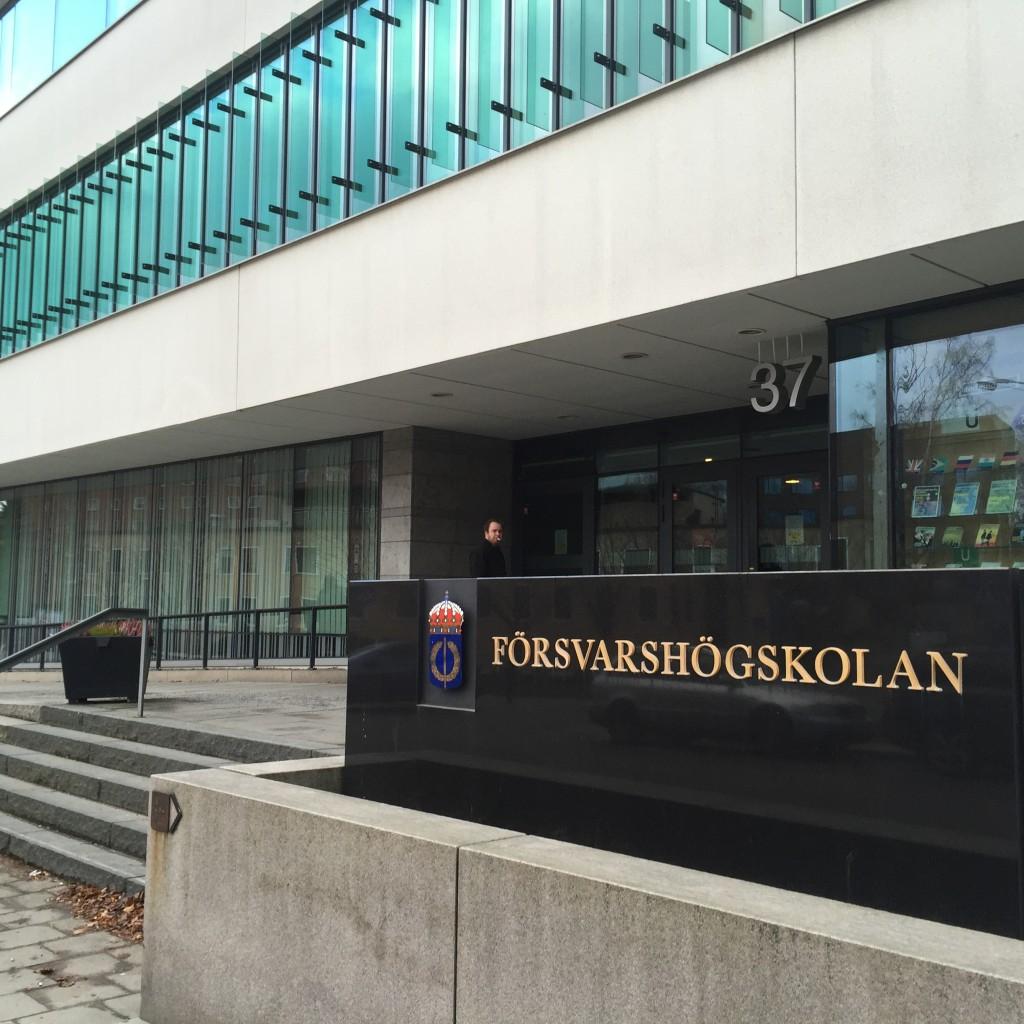 Försvarshögskolan, Stockholm