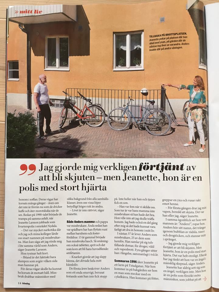 Reportage Aftonbladet Söndag, den 17 juli 2016 - 2