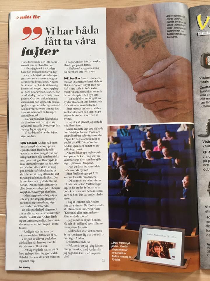 Reportage Aftonbladet Söndag, den 17 juli 2016 - 3