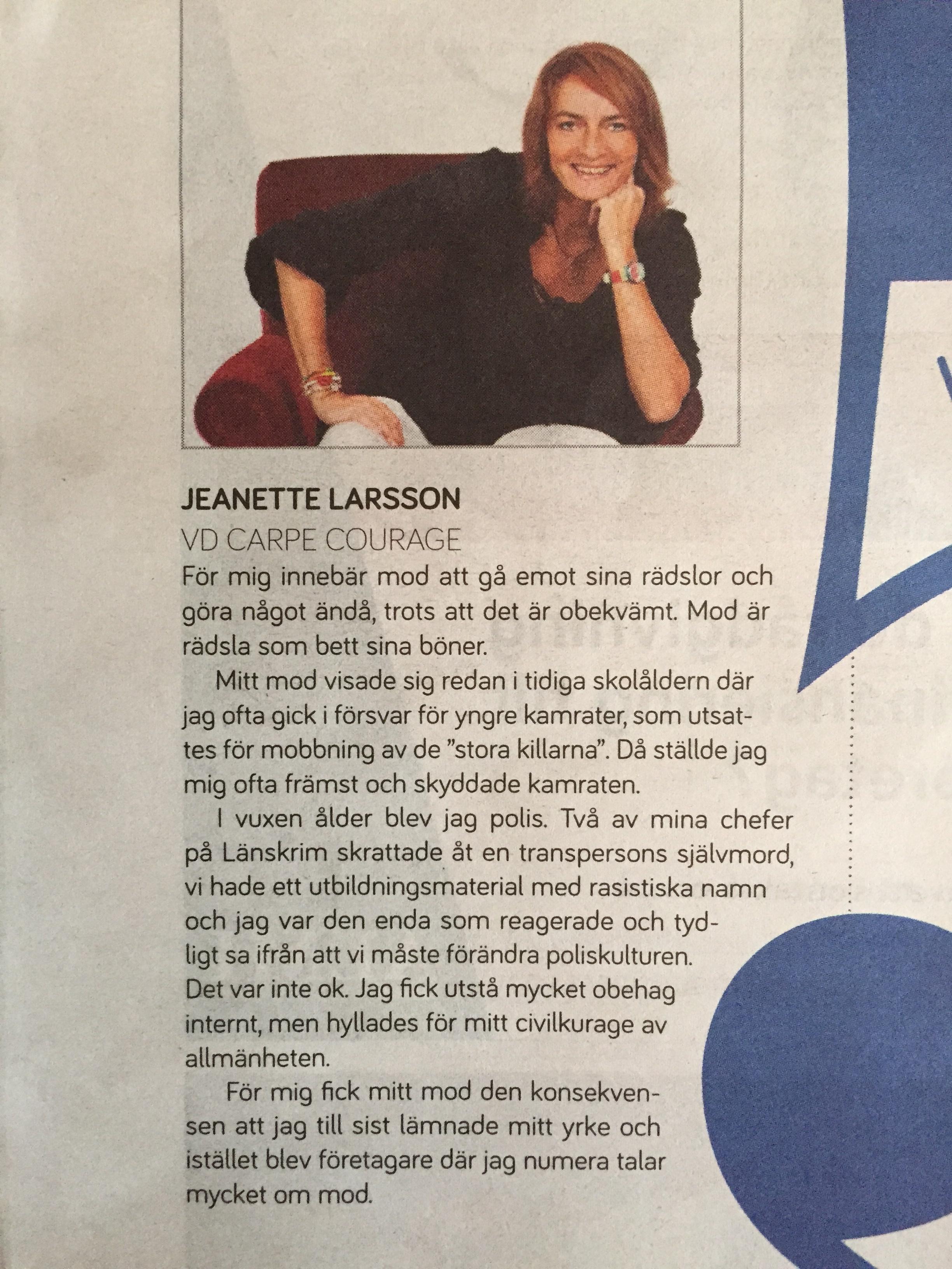 Sydsvenskan, Malmö Näringsliv (Bilaga), 7 februari 2016, sid 12