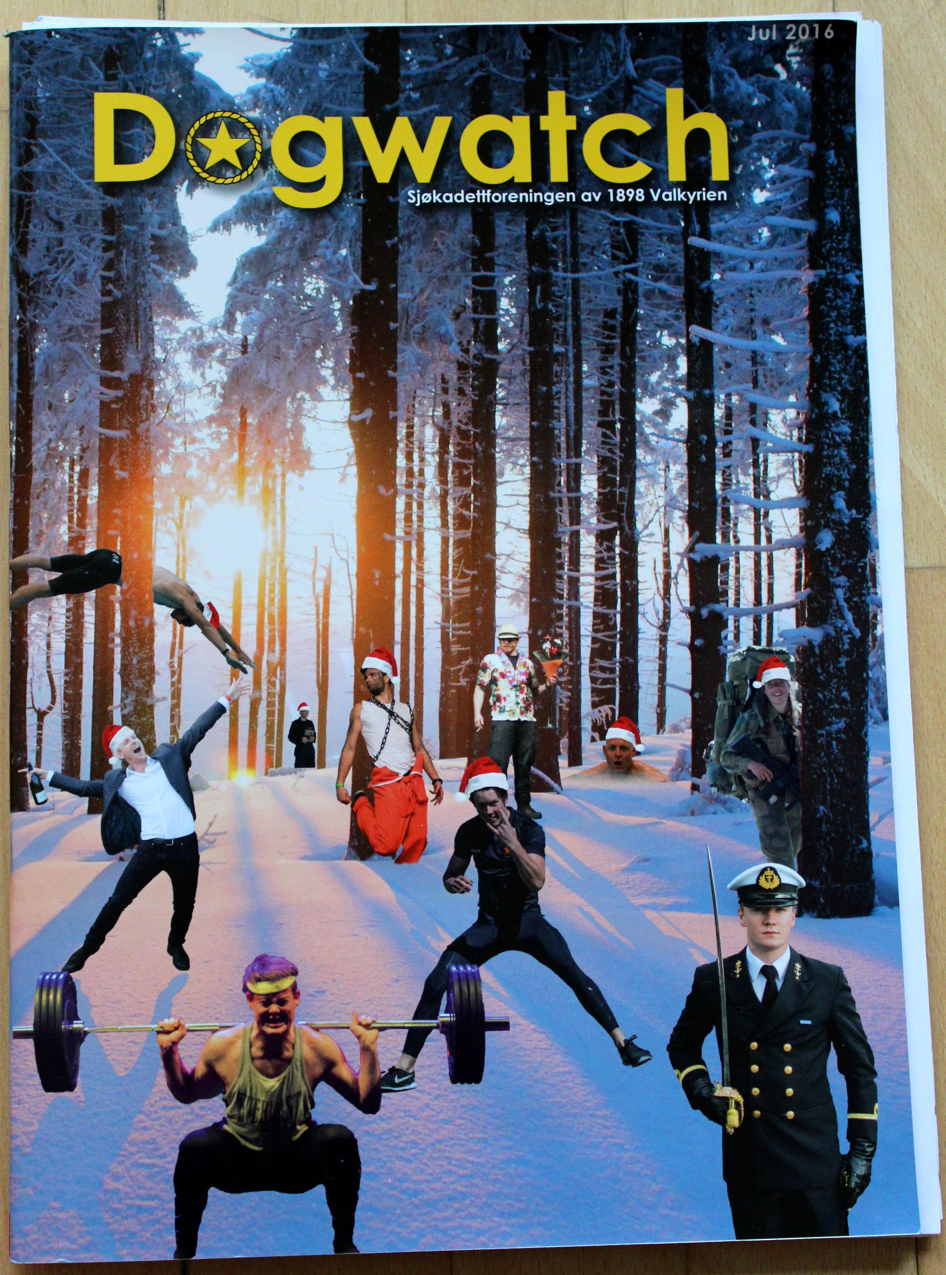 """Dogwatch, Jul 2016.  Artikel: """"Vågar du visa civilkurage"""" av Jeanette Larsson, Carpe Courage AB. Omslag."""