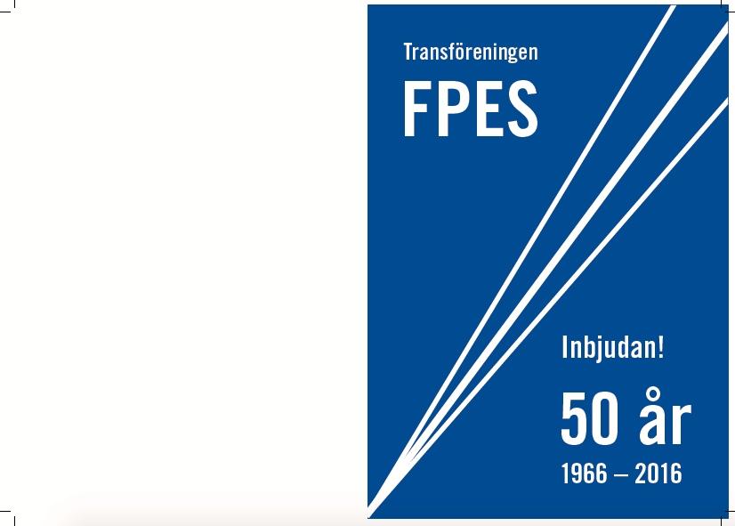 Transf Reningen I Sverige Fpes 50 R Den 12 November