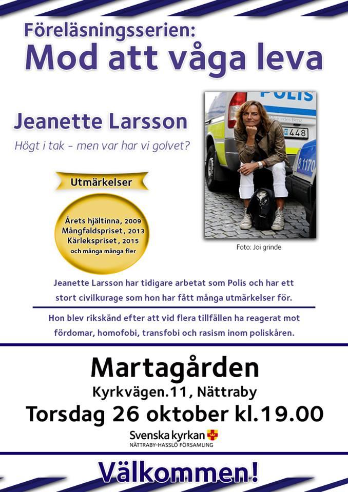 2017-10-26, Nättraby Hasslö Församling, Affisch