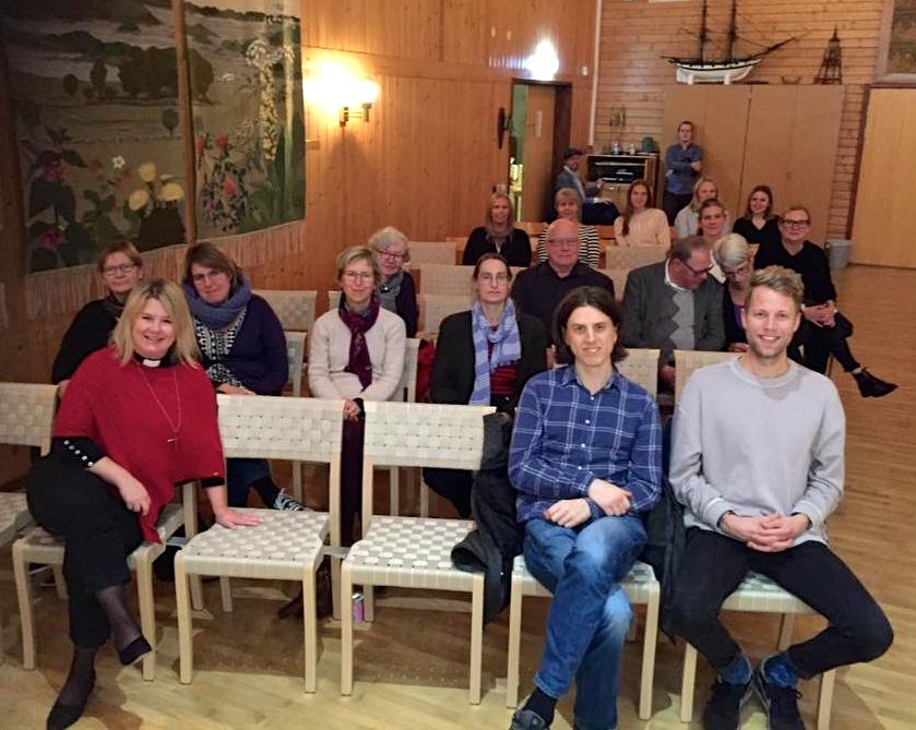 2017-10-26, Nättraby Hasslö Församling, publik vänster