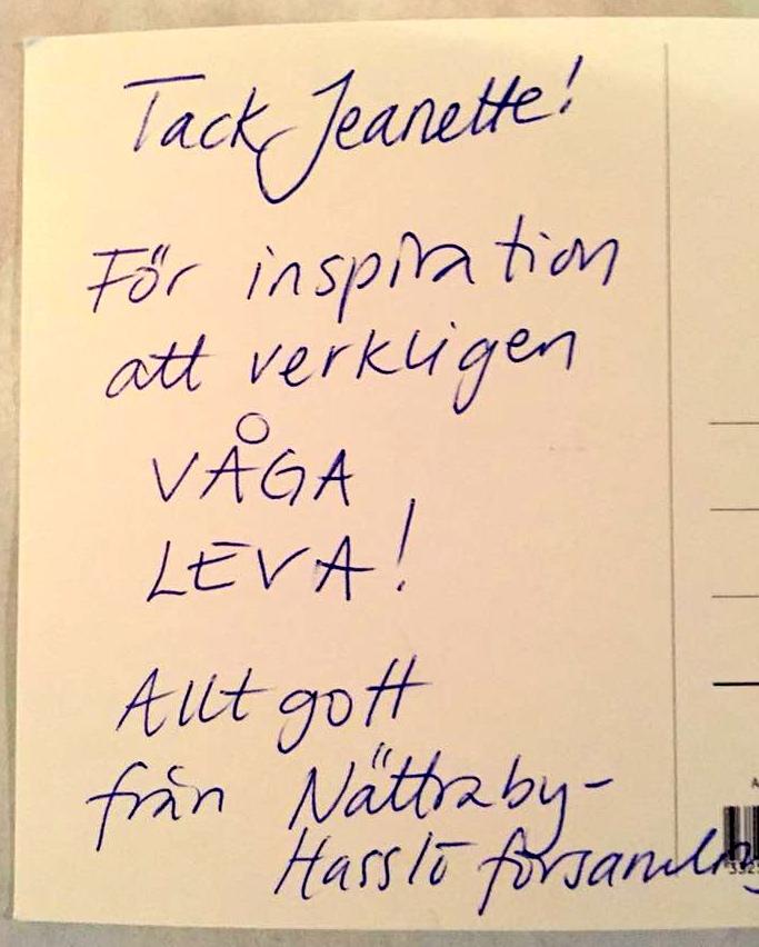 2017-10-26, Nättraby Hasslö Församling, Vykort, sid 2