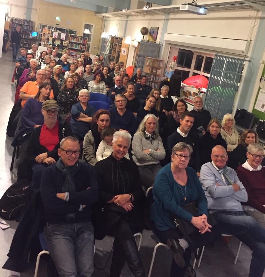 2017-10-30, Lindgängenbiblioteket i Malmö. Publiken
