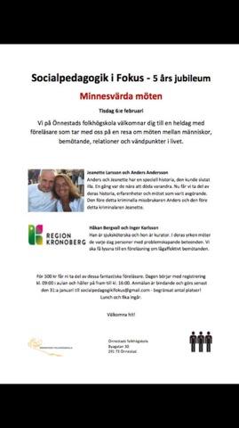 Inbjudan, Önnestad Folkhögskola, 2018-02-06