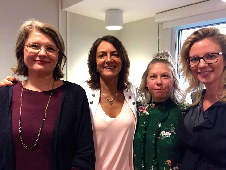 2018-02-08, Malmö Stad, Avdelningen för ordinärt boende i Malmö. Jeanette Larsson tillsammans med arrangörerna.