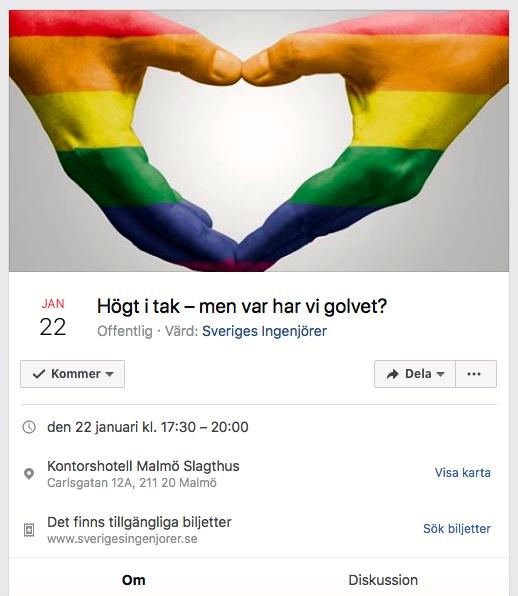 2018-01-22, Sveriges Ingenjörer, Distrikt Skåne