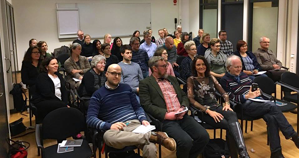 2018-01-22, Sveriges Ingenjörer, publiken och Jeanette Larsson.