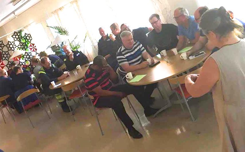 2018-05-25, AkzoNobel i Alby, deltagare höger