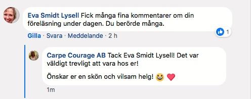 FB - Eva Smidt Lysell