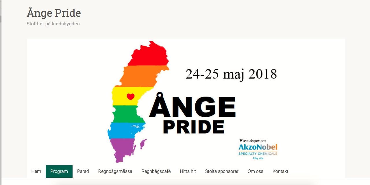 Ånge Pride, den 24 maj 2018