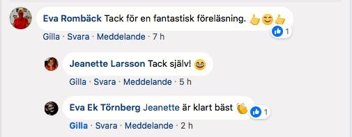 2018-05-17, Svenska Tandsköterskeförbundet/Käkkirurgiska sektionen, i Kristianstad
