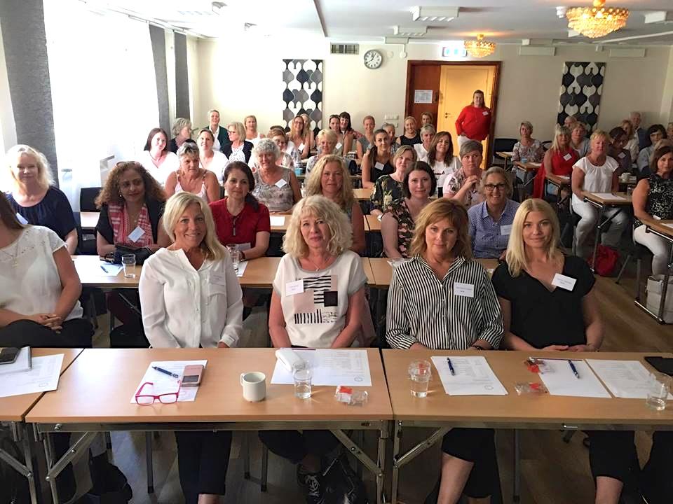 2018-05-17, Svenska  Tandsköterskeförbundet, i Kristianstad, publik vänster